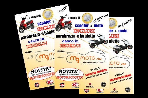 portfolio: Volantino MgMoto