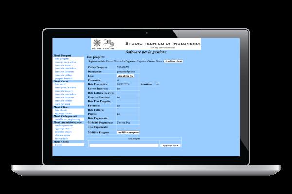 portfolio: Gestionale WebAPP