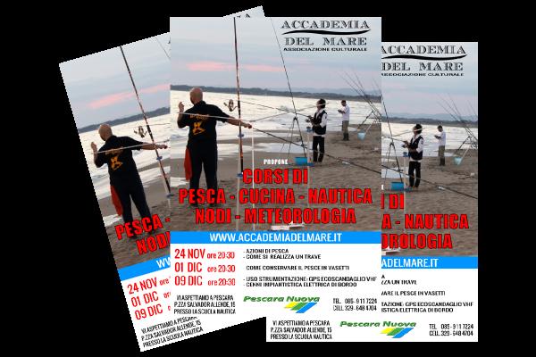 portfolio: Volantino Accademia del Mare