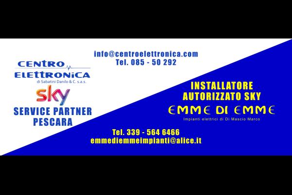 portfolio: Poster Centro Elettronica e Emme di Emme