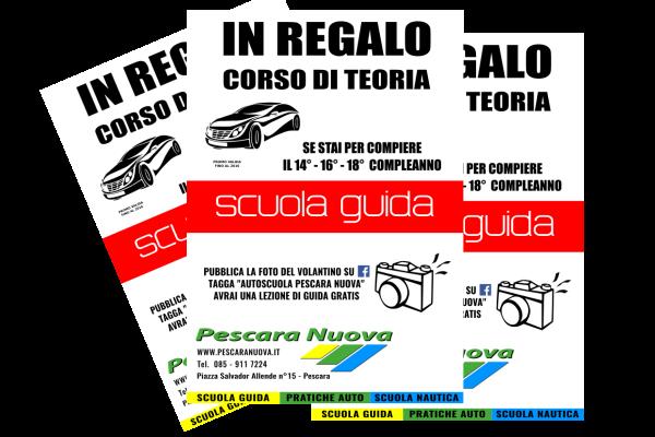 portfolio: Volantino Pescara Nuova