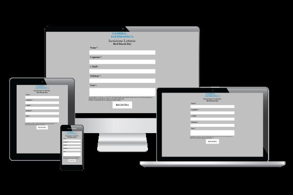 portfolio: Iscrizione WebAPP